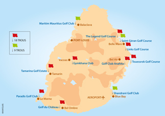 Golf Ile Maurice   Vivatours Ile Maurice